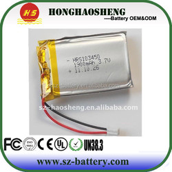 hot sale best price rechargeable flat cell lithium ion battery
