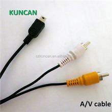 High quality AV high end 3 rca to 3rca cable vga rca DC cable factory price