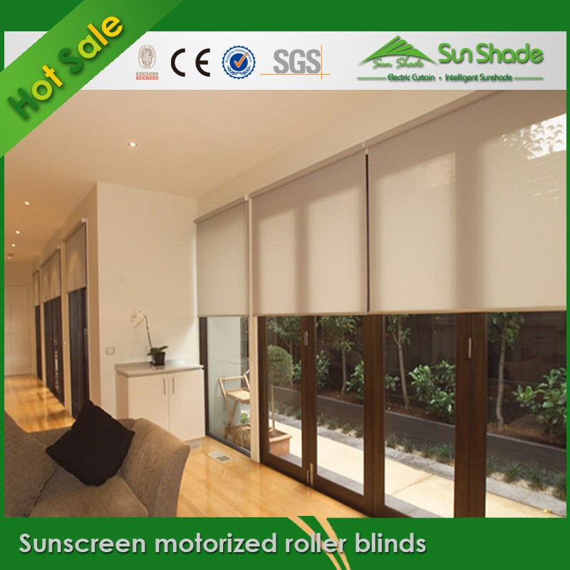 Somfy Motor Sunscreen Motorized Roller Blinds Buy