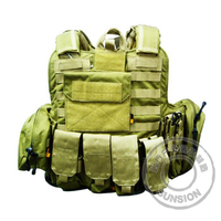 Tactical Bulletproof Vest adopt Cordura or 1000D high strength Nylon fabric