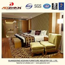 modern 5 star hotel used bedroom furniture for sale AZ-KF-0604