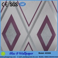 new design texture wallcovering fire resistance vinyl wallpaper