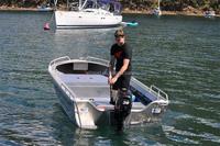 14ft All-welded Aluminum V Bottom Fishing Boat