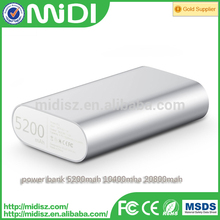 for XIAOMI Power Bank 5V 2.1A 5200mah USB for Smartphone Tablet Notebook
