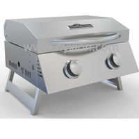 Portable Outdoor Camping stainless steel gas grill machine