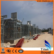 Low Cost China Prefabricated Light Frame Steel Structures Residential Buildings