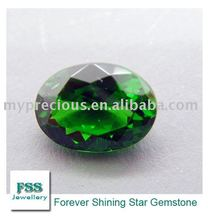 Brilliant cut Oval Chrome Diopside (FSSCDOV0907)