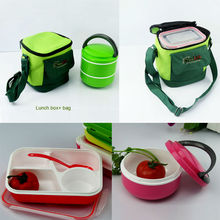 Promotional Plastic lunch box, bento lunch box/insulated food container