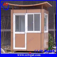 Stainless steel police box waterproof durable sentry box customized sentry box shed