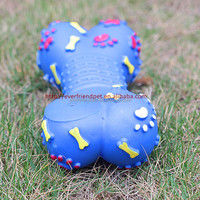 Plastic Squeaky Dog Bone Toy Dog Chew Bone