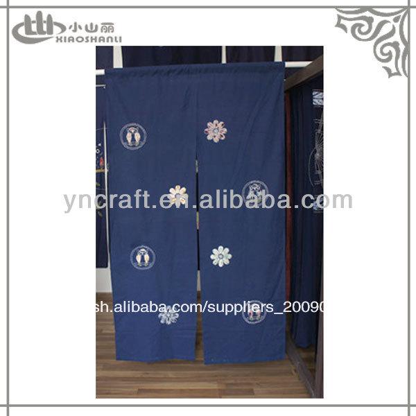 De estilo japon s azul portieres cortinas cortina - Cortinas estilo japones ...