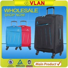 cheap fashion luggage with built in clothes rack