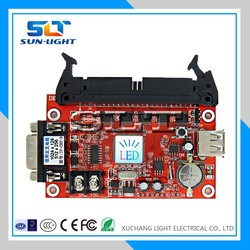 2015 SLT new product RS232 Scoreboard LED Score board Wireless Remote Control TF-CNT-D