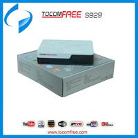 Tocomfree s929 decodificadores satelitales iptv decoder satellite hd for South America