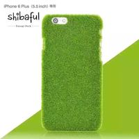 Superior Quality New Grass Back Cover Hard Slim Mobile Phone Case for iPhone 6