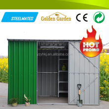 Easy assembly prefab garden storehouse with metal structure