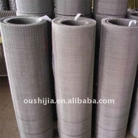 Stainless steel double crimp wire mesh (directly from factory)