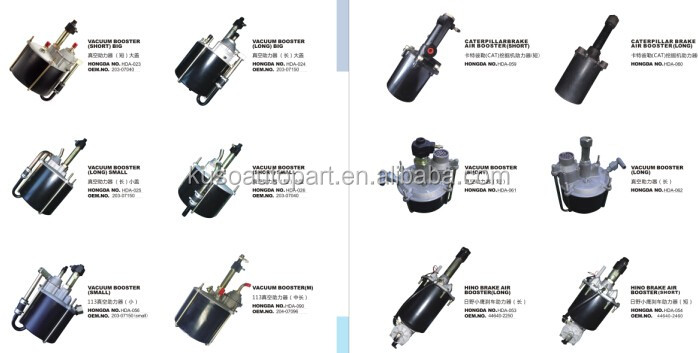 have brake master cylinder of vacuum booster for mmc fuso