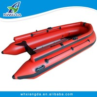 2015 China Factory PVC Hull Speed Outboard Rubber Boat