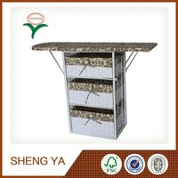Wooden Ironing Table With Storage Basket New Product For 2015