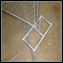 portable movable fencing/ used temporary fence/ chain link fence panels sale
