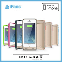 fast charging for iPhone 6 battery case with changeable frames