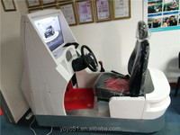 Come complete with the visual display Car driving simulator