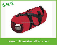 Red Round Shape Classic Durable Golf Travel Bag