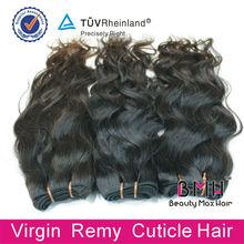 Natural Wavy Virgin Indian 100% Human Hair Extension