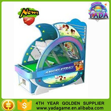2015 hot sale kids basketball machine kids coin operated angel basketball shooting games