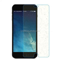 Hot selling zero touch 9H 0.3mm 2.5D bright diamond film flash tempered glass screen protector for iPhone 5/5s iPhone 6/6 plus
