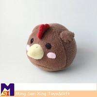 Wholesale china handmade stuffed brown chicken toys