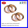 OEM ISO/ROHS MINSTER MACHINE PARTS,copper/stainless steel/brass /aluminum flange washer cnc machining part