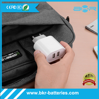 Powerful fast charging 17W usb multi travel charger for Iphone 5 6 5s Samsung galaxy S5 S6 xiaomi fast mobile phone charger