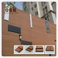 Osk alta calidad compuesto plástico de madera a prueba de agua wpc jardín casa con gran precio