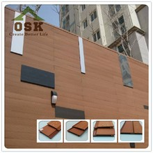 osk high quality wood plastic composite waterproof wpc garden house with great price
