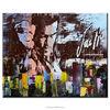 Original handmade modern abstract human figure oil painting