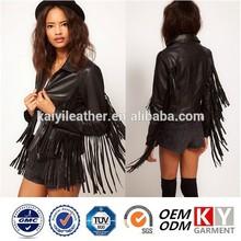 nuovi prodotti 2015 design francia moda frangia giacca abbigliamento donna