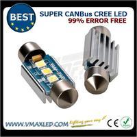 New style error free super canbus led auto lamp led car dome light bulbs