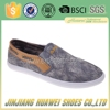 Injection Molded Mens Canvas Shoes Footwear For Men