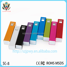 Commonly accessories parts portable charger power bank emergency mobile phone charger