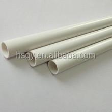 Pvc conducto / blanco pvc tubos tubo de pvc por