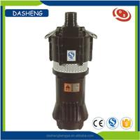 High volume low pressure black industrial electric water pumps