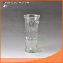 Contemporary new arrival 2015 hot different types glass vase