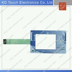 high quality customized membrane switch keypad with LED and connector