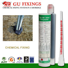 chemical solution to fix foundation bolt for outdoor adhesive flooring