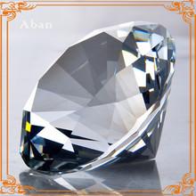 Europe popular decoration crystal large diamonds,white diamonds stone for sale