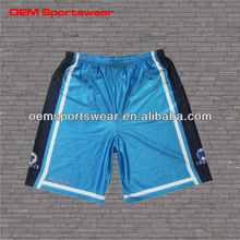 Custom sublimation basketball shorts for training in hot sale