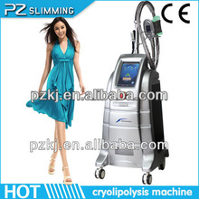 Most advanced 4 Handpieces Cryolipolysis Slimming Machine. 26% Fat Loss for One Treatment ! PROMOTION!