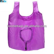 Cheap nylon foldable shopping bag for super market